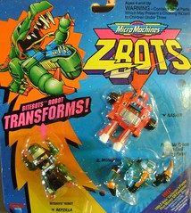 Z-Bots Series 3 Set 16 (Z-Bots collector) Tags: toys robot space micro radical machines void nasher transform monoped voids zbot galoob zbots bitebots repzilla