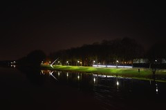 Spitzhacke - Kassel - Documenta 7 (Roman Sadovnikov) Tags: city trees light monument night stairs river germany hessen kultur fulda kassel cultur 2016