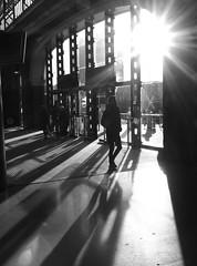 Lime Street Shadows. (steveo7121) Tags: liverpool shadows olympus lensflare limestreet em5