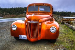 In a heartbeat.... (Paul Rioux) Tags: orange truck pickup automotive international transportation restored hotrod vehicle customized custom streetrod 1947 prio sonya6000