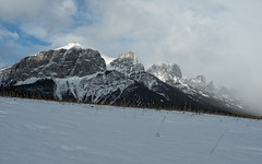 Canmore over Family Day Weekend 2016 (GeoKs) Tags: winter snow ice canmore mountrundle bowvalley