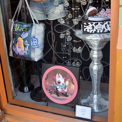 Disneyland Visit - 2016-02-07 - Downtown Disney - Vault 28 - Alice in Wonderland Merchandise (drj1828) Tags: us disneyland visit downtowndisney 2016