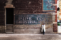 Words... (~ cynthiak ~) Tags: selfportrait chicago words alley ghostsign ghostsigns selfie explored werehere 366days 66366 passionateaboutwords img1180 hereios day66366 366the2016edition 3662016 3651for2016 6mar16
