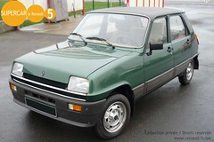 Renault 5 Automatic r5 verte (cbilleque) Tags: green renault automatic verte renault5 r5