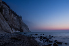 As if it Were Staged (Bo47) Tags: longexposure morning cliff beach water sunrise denmark europe limestone done 2014 mønsklint møn bo47 bonielsen lumixgvario1235mmf28 olympusomdem1 wwwjustwalkedbycom wwwbonielsenme