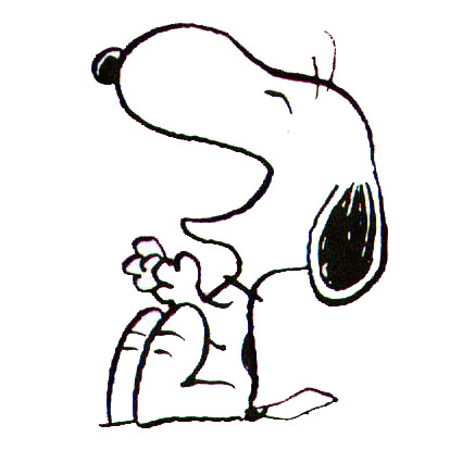 Image result for snoopy laughing