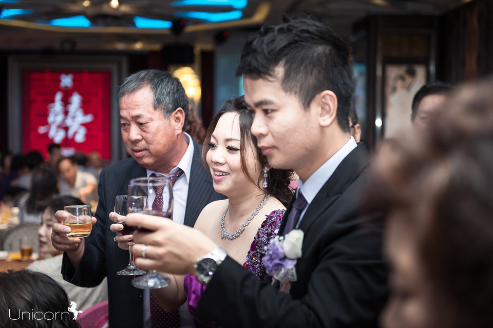 《婚攝一条》家峰 & 嬰琪 / 潮港城