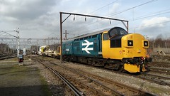 37025 Crewe Basford Hall 6Z90 (jimscott2) Tags: crewe largelogo 37025 kirow basfordhall 6c90