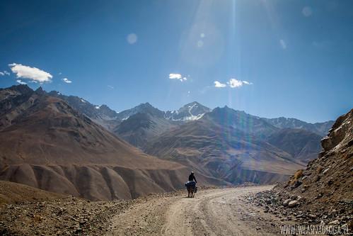 Majestetyczne góry po afgańskiej stronie