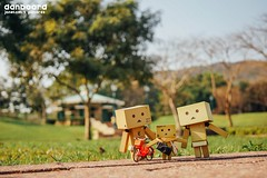 Happiness in Danbo's family (janetcmt's pictures) Tags: toy danbo revoltech danboard