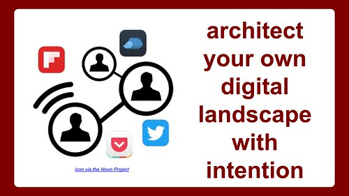 Architect Your Own Digital Landscape wit by Wesley Fryer, on Flickr