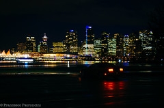 Midnight Run (Francesco Patroncini Photography) Tags: city nightphotography canada cars car skyline architecture night vancouver america reflections nikon cityscape skyscrapers stanleypark mustang fordmustang urbanphotography grattacieli nikond90