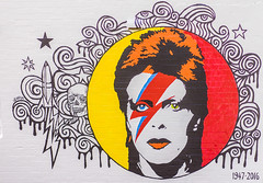 STARMAN - by Sofia (Leighton Wallis) Tags: portrait streetart painting graffiti bowie mural sofia sony australia 55mm nsw newsouthwales paddington alpha f18 davidbowie starman ziggystardust mirrorless a7r blendergallery emount ilce7r
