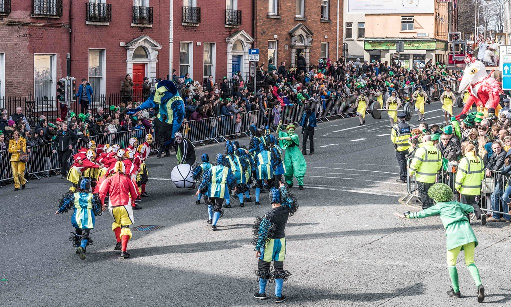 GAME ON BY CITY FUSION [DUBLIN 2016 PATRICK'S DAY PARADE]-112560