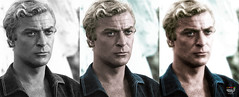 My name is........ (Billy-Fish) Tags: color colour art silver michael icon screen photographic hollywood actor restoration british caine colourisation billyfish