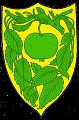 Fossoway / Fossovoie 2 blason couleur (Jrmy Huet) Tags: ice apple illustration fire drawing song dessin fantasy illustrator maison heroic fer pomme blason illustrateur jrmy trne faction huet armoirie blazonry