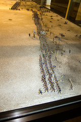 Battle lines are drawn (quinet) Tags: germany toy flats spielzeug soldaten 2012 jouets soldats kulmbach tinsoldiers spielwaren castleroad burgenstrase plassenburgcastle zinnfigurin plassenburgzinnfigurenmuseum
