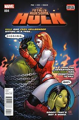 Preview: Totally Awesome Hulk #4 (All-Comic.com) Tags: comics marvel previews frankcho gregpak meghanhetrick allcomicpreviews allcomic totallyawesomehulk