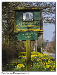 Appleby, North Lincolnshire (Paul Simpson Photography) Tags: flowers nature sign spring village daffodils appleby conservationarea villagesign northlincolnshire photosof imageof photoof imagesof southhumberside sonya77 paulsimpsonphotography march2016