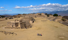 Monte Alban Ruins (c h r i s t o s) Tags: mountain monument america mexico ancient pyramid tomb culture historic step oaxaca zapotec