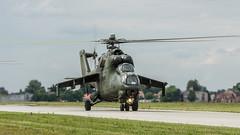Mi-24D (kamil_olszowy) Tags: force polish helicopter land hind gunship dblin mi24d epde