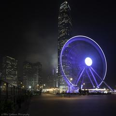 HK Wheel (landscapehijacker) Tags: longexposure nightphotography wheel night zeiss observation island hongkong sony zeiss15mm a7r2