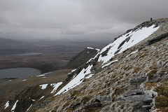 Mark on summit of Ben Hope. (Chris Firth of Wakey.) Tags: sutherland munros benhope