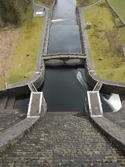 The Claerwen Dam (blueachilles) Tags: wales reservoir lookingdown elanvalley claerwendam rodtookthis