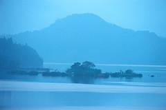 2-21 (EH500) Tags: mountain lake color slr film water sunrise landscape nikon scenery fuji taiwan slide velvia 135 nikkor  fujichrome nikoncoolscan  sunmoonlake angenieux rvp fe2 70210mm  rvp100 angenieux70210mm    fujichromevelvia   angnieux scanbynikon9000ed
