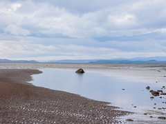 Allonby_Beach_8228-2 (allybeag) Tags: sea beach water rock stone reflections coast sand pebbles shore solway criffel allonby dubmillpoint