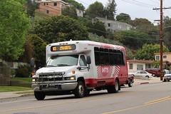 MTS Bus (So Cal Metro) Tags: bus chevrolet sandiego metro eldorado chevy transit aerotech kodiak mts minibus cutaway enc sandiegotransit edn 3400 eldoradonational rt83 c5500 aeroelite bus3407