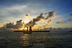 Sunset Sailing at Mallory Square - Key West (J.L. Ramsaur Photography) Tags: ocean blue sunset sea sky orange sun sunlight gulfofmexico nature yellow clouds sailboat sunrise landscape outdoors photography boat photo nikon waves sailing florida bluewater bluesky pic photograph thesouth keywest sunrays schooner floridakeys mallorysquare 2014 whiteclouds conchrepublic keywestflorida beautifulsky monroecounty sunglow thekeys keywestsunset deepbluesky islandtime skyabove keywestfl homeofthesunset sunsetsailing ibeauty southernlandscape southernmostcity blueoceanwater allskyandclouds tennesseephotographer d5200 southernphotography screamofthephotographer jlrphotography photographyforgod nikond5200 engineerswithcameras godsartwork naturespaintbrush jlramsaurphotography southernmostcityinthecontinentalus conchrepublicsunset