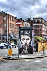 Big Brother (KRC1975) Tags: streetart manchester bowie nikon northernquarter stevensonsquare d7200