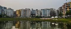 Mirpur DOHS (ASaber91) Tags: park lake reflection water dhaka bangladesh mirpur dohs