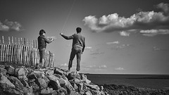 (thierrylothon) Tags: france monochrome flickr sony bretagne ciel paysage fr morbihan publication noirblanc personnage c1pro captureonepro phaseone saintphilibert sonya7 fe55mmf18za fluxapple sonyzeissfe55mmf18za
