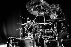 Lorna for Natal Drums (Madeleine Penfold) Tags: music natal female manchester drums photography live drummer madeleine drumkit penfold endorse lornathkthehyenakilllornathehyenakill