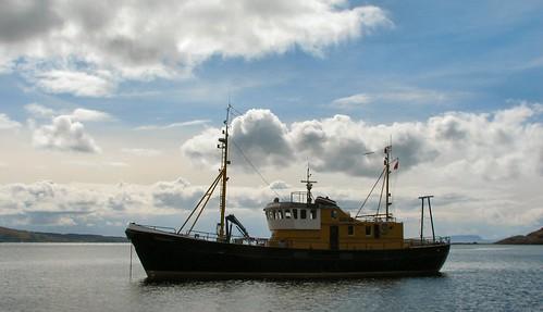 Ocean Bounty. April 2008 at Coruisk in Skye.