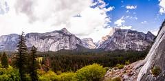 Half Dome Panoramic (JarrodLopiccolo) Tags: california spring panoramic yosemite halfdome yosemitenationalpark yosemitenation