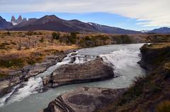Cascada Paine (elconejorojo) Tags: torresdelpaine patagoniachilena