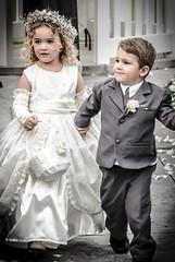 Ring Bearer & Flower Girl (Blake Coble) Tags: wedding portrait flower girl children nikon dress candid sommer ring josh suit tuxedo bearer 2016 d90