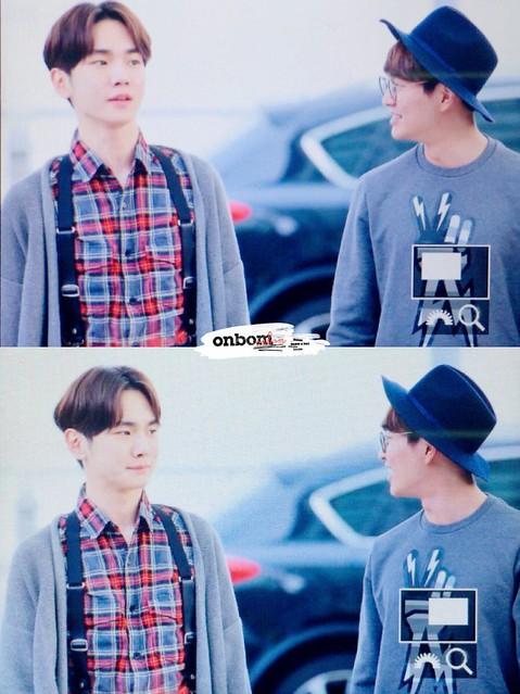 160401 SHINee (Sin Jonghyun) @ Aeropuerto de Incheon {Rumbo a Japón} 26195362206_05132f50e5_z