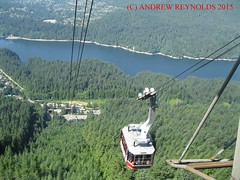 2015 0629 02 CABLE CAR GROUSEMOUNTAIN VANCOUVER (Andrew Reynolds transport view) Tags: canada car vancouver cable 02 gondola ropeway grousemountain 2015 0629 car america north columbia cable britsh