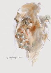 Paul (Gasheh) Tags: portrait man color art painting sketch drawing pastel 2007 gasheh