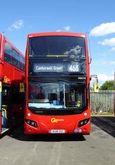 GAL MHV18 - BU16OZC - BV BELVEDERE BUS GARAGE - THUR 28TH APR 2016 (Bexleybus) Tags: new bus london buses ahead volvo garage go egyptian belvedere bv etb mcv goahead evoseti mhv18 bu16ozc