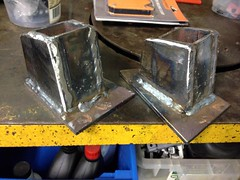 Seam Welded (john.and.kath) Tags: chevrolet conversion welding engine mount swap impala ls 1965 pedestal fabrication 60l l98 jrd ls2 l76