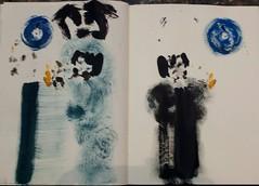 Japanese wedding (raumoberbayern) Tags: painting japanese acrylic sketchbook acryl robbbilder malerei japanisch skizzenbuch