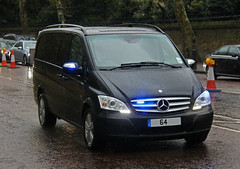 Metropolitan Police Royalty Protection Group Unmarked Mercedes Vito - **64 *** (IOW 999 Pics) Tags: mercedes group police 64 protection metropolitan royalty vito unmarked