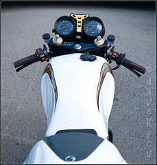 Yamaha RD LC - view from the back (davekpcv) Tags: yamaha lc rd