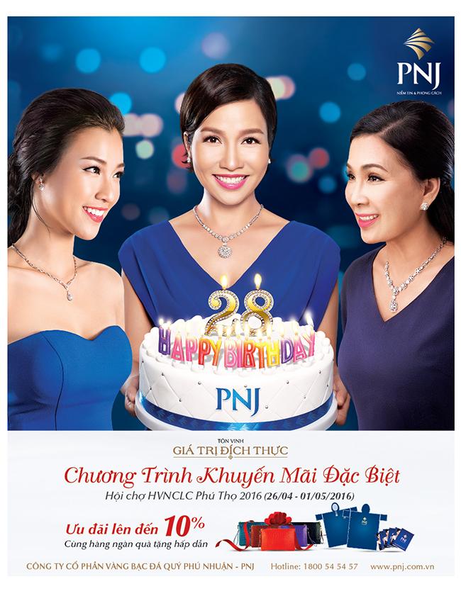 PNJ khuyến mãi đặc biệt tại hội chợ hàng Việt Nam chất lượng cao 2016