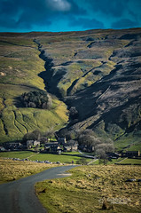 A town in the valley (tbnate) Tags: nature landscape outside nikon outdoor yorkshire hills valley northyorkshire yorkshiredales thedales d5100 nikond5100 tbnate